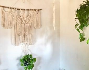 Bohemian Jungalow Macrame Wall Hanging | Free Shipping! | Boho