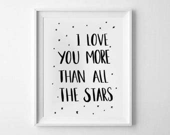 I Love You More Than All The Stars A4