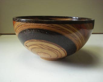 laminated wood bowl