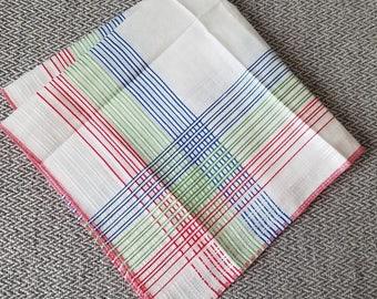 Vintage Handkerchief Stripes