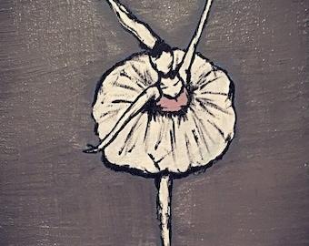 Dancer en Pointe
