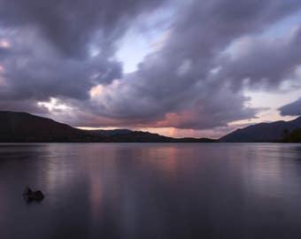 Derwent Water Dusk, Lake District