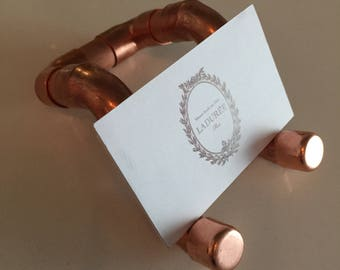 Copper Business Card Stand