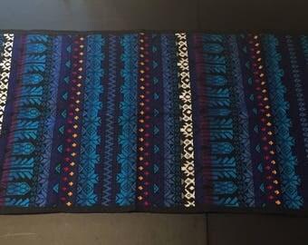 Mayan/Guatemalan Tapestry - Blue