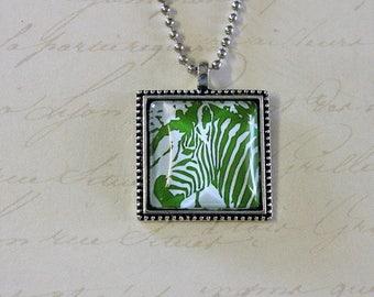 Zebra green render