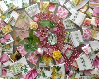 BRoKeN CHiNa MoSAiC TiLeS~~SHaB~~SuNShiNe & RoSey RoSeS~~~BLinGLiouS