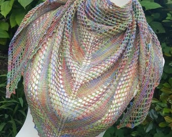 Handmade Shawl, perfect for weddings, summer, festivals, casual, smart, dress