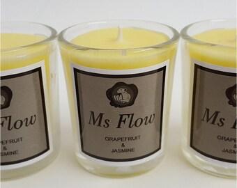 Ms Flow Grapefruit & Jasmine Candle