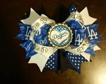 Dodgers Ott hair bow
