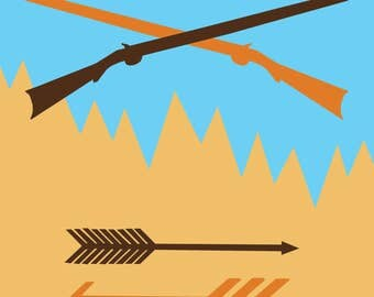 Rifles and Arrows Download and Print