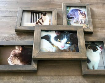 Solid Wood Picture Frame Collage
