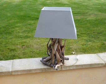 lamp wooden floats