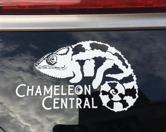 Chameleon Central USA (FB group) Vinyl Decal