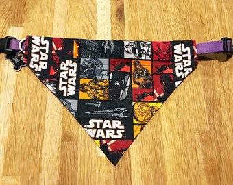 Star Wars Dog Bandana - over collar bandana