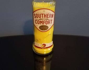 Southern Comfort bottle candle