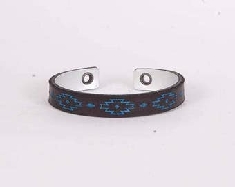 "217 ""Everlasting Life Cuff Bracelet"""