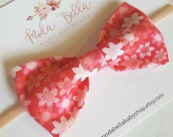 Baby Headband, Baby Bows, Bows, Newborn Hair Bows, Hair Accessories, Newborn Headband, Infant Headbands, Baby Girl Headbands, Floral Bow