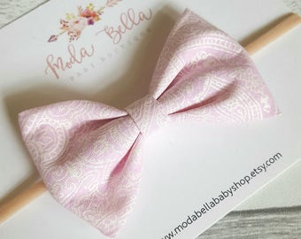 Baby Headband, Baby Bows, Bows, Hair Bows, Hair Accessories, Newborn Headband, Infant Headbands, Baby Girl Headbands, Pink Bow