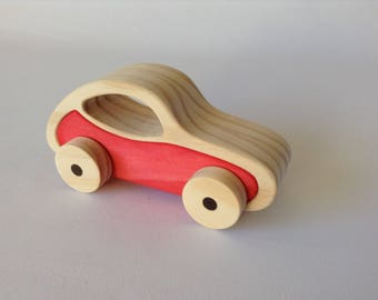 Wooden Toy Car.