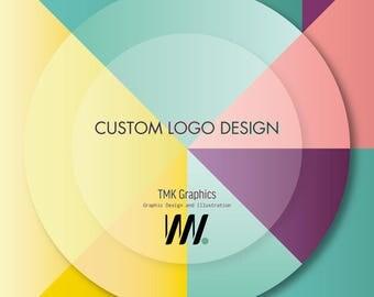 Custom Logo Design, Logo Design, Graphic Design, Business Branding, Business Stationary, Custom Logo