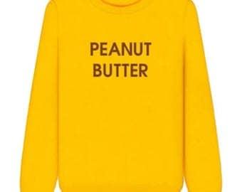 Peanut Butter Yellow Sweatshirt