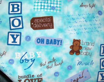 Michael Miller Fabric by the Yard - Baby Boy OOP