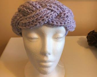 Braided Lilac headband