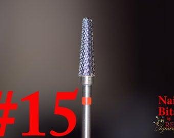 Corn Shaped Nail Bit #15 - Hard Alloy