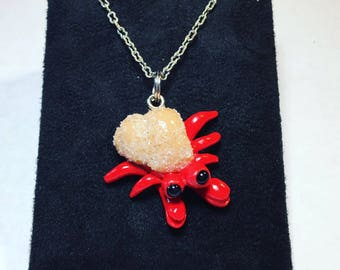 Hermit Crab Necklace Charms