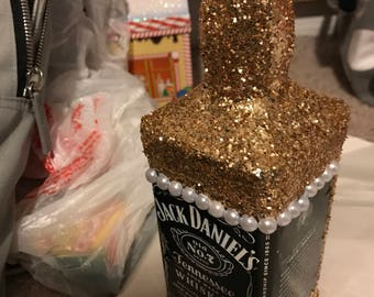Glitter Liquor Bottle