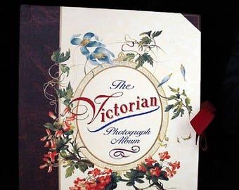 Vintage Victorian Style Photograph Album