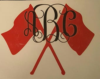 Color Guard Car Decal, Marching Band Car Decal