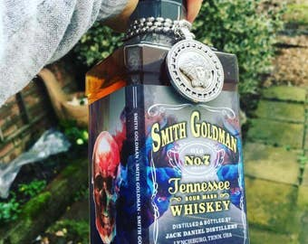 Custom Made Jack Daniel s creative-art Label