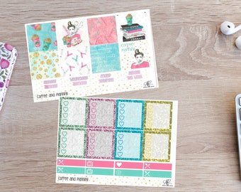 Coffee and Planning Mini Happy Planner weekly kit NEW FORMAT
