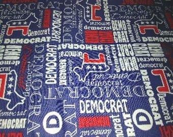 Democratic Fat Quarters