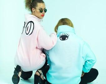 Blue Third Eye Fleece & Pink Eyed Fleece