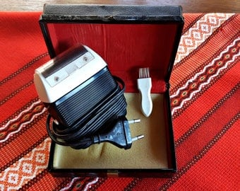 Retro Vintage electric shaver. GDR-German