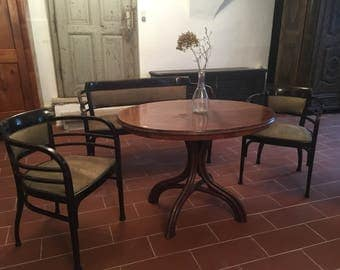 European Antiques, bench, chairs