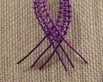 Hurler Syndrome awareness ribbon