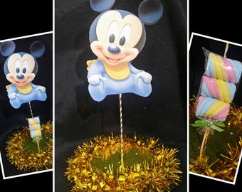 Mickey mouse baby Centerpiece