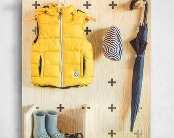 Modern Peg Wall System, XO Colective, Pegboard