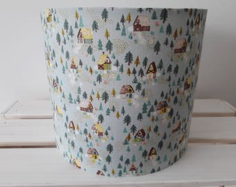 Pale Sage Green Lampshade Goldilocks Style Print