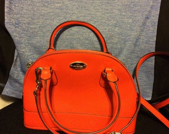 COACH Mandarin Orange MIni purse