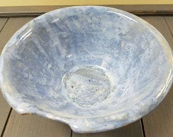 Blue Bowl. Ceramic Bowl. Pottery Bowl. Decorative Bowl. Handmade Bowl. Clay Bowl. Pottery Handmade. Glazed Bowl.