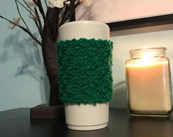 Knitted Coffee Mug Cozy