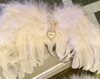 Baby Angel Wings with halo