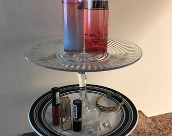 Two Tier Jewelry Stand