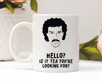 Hello Is It Tea You're Looking For, Funny Tea Mug, Mugs With Sayings, Gift For Her, Custom Mug, Birthday Gift, Tea Gift, Valentines Day Gift