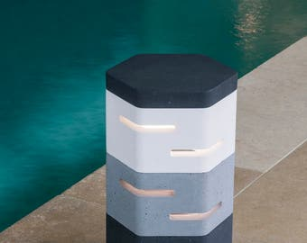 Holix II Contemporary outdoor lighting for gardens, courtyards, patios and conservatories