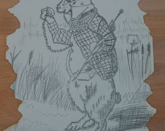 Drawing Alice rabbit